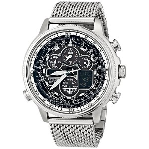 [シチズン]Citizen 腕時計 Navihawk AT Analog Display Japanese Quartz Silver Watch JY8030-83E メンズ [並行輸入品]