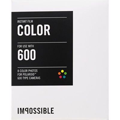 IMPOSSIBLE ポラロイド用 インスタントフィルム INSTANT COLOR FILM FOR POLAROID 600 TYPE CAMERA 2785