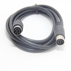 eBayson DIN 8 PIN スピーカーケーブルワイヤ 0.5m for Bang & Olufsen B&O BEOLAB Powerlink MK2 MK3