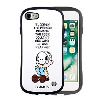 iPhone8 iPhone7 ケース 耐衝撃 スヌーピー PEANUTS iface First Class 正規品 / チャーリー・ブラウン