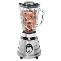 Oster 4093-008 5-Cup Glass Jar 2-Speed Beehive Blender, Brushed Stainless [並行輸入品]