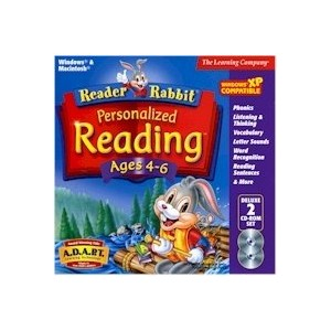 Reader Rabbit Personalized Reading Ages 4-6
