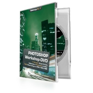 Photoshop-Workshop-DVD - Webdesign Vol. 2: Die PSD-Tutorials.de - Photoshop Workshop-DVD -...