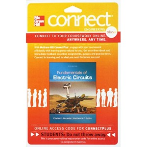 Connect 1-Semester Access Card for Fundamentals of Electric Circuits