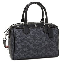 (コーチ) COACH COACH バッグ アウトレット コーチ F57672 SVDE MINI BENNETT SATCHEL IN DENIM SIGNATURE COATED CANVAS...
