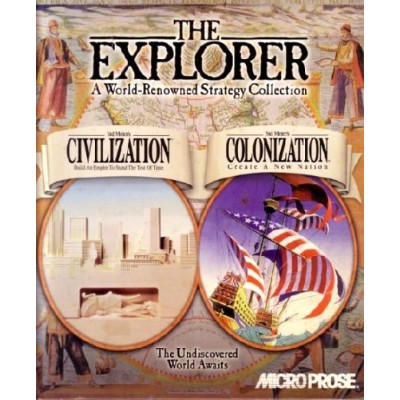 The Explorer: A World-Renowned Strategy Collection (Original Civilization / Colonization) (輸入版)