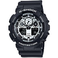 [カシオ]CASIO 腕時計 G-SHOCK White and Black Series GA-100BW-1AJF メンズ
