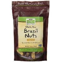 海外直送品 Now Foods Brazil Nuts Raw, 12 oz