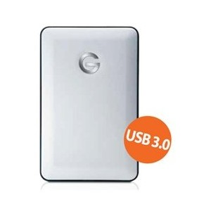 G-Technology G-DRIVE mobile USB 3.0 1000GB Silver JP 0G02755