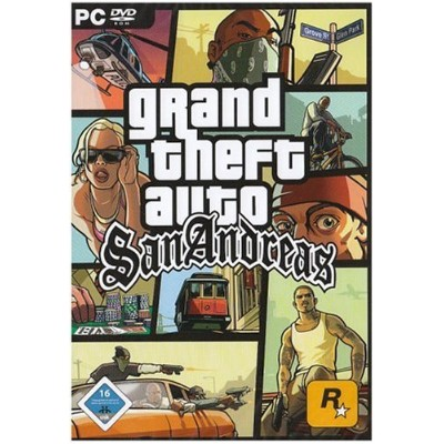 GTA: San Andreas PC (輸入版)