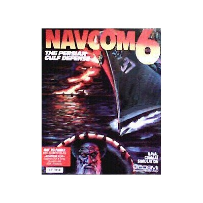 "NAVCOM 6: The Persian Gulf Defense (PC, DOS, 3.5"" Disk) (輸入版)"