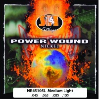 SIT -エスアイティー- ベース弦 POWER WOUND -Nickel Round Wound -Fusion Wound  LIGHT 045-105 x 1セット NR45105L