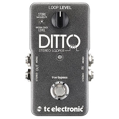 tc electronic ステレオ ルーパー DITTO STEREO LOOPER