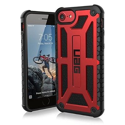 URBAN ARMOR GEAR 4.7インチ対応(iPhone8/7/6s) Monarch Case クリムゾン UAG-IPH7-P-CR 【日本正規代理店品】