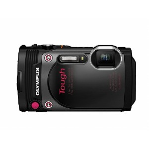 Olympus Stylus Tough TG-870 - Digital camera - High Definition - 60 fps - compact - 16.0 MP - 5 x optical zoom - Wi-Fi - underwater up to 45 ft - black