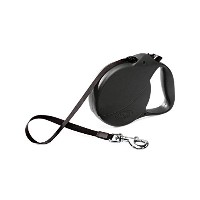 フレキシ (flexi)Usa 26Feet(8m) Explore Retractable Dog Leash ブラック 8m [並行輸入品]