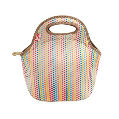 BUILT NY Gourmet Getaway Neoprene Lunch Tote, Candy Dot by Built NY