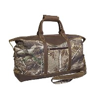 Canyon Outback Leather CM815 22 in. Realtree Water Resistant Duffel Bag, Camouflage