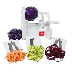 Paderno World Cuisine A4982799 Tri-Blade Plastic Spiral Vegetable Slicer 野菜スライサー 並行輸入品