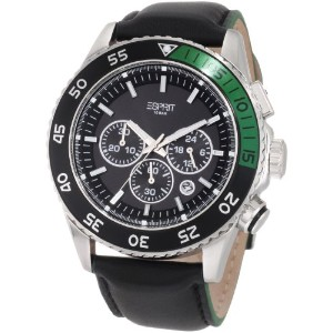Esprit Men's Quartz Watch ES103621001 with Leather Strap