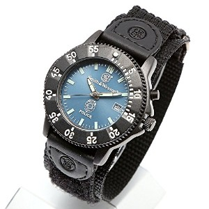[Smith & Wesson]スミス&ウェッソン ミリタリー腕時計 455 POLICE WATCH BLUE/BLACK SWW-455P [正規品]