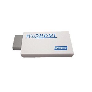 Wii HDMIコンバーター HDMI変換アダプタ WiiをHDMI接続に変換!Wii TO HDMI CONVERTER BOX アップコンバーター 1080p