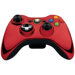 Official Xbox 360 Wireless Controller Chrome Red (Xbox 360) (輸入版)