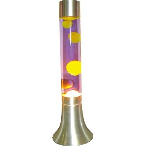 HOUSE USE PRODUCTS(ハウスユーズプロダクツ) モーションランプ OMNI MOTION LAMP SILVER BASE YELLOW/PURPLE [正規代理店品]