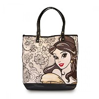 Belle With Floral Print Tote