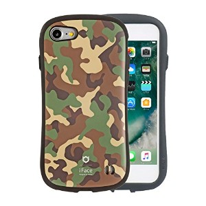 iPhone8 iPhone7 ケース 耐衝撃 iFace First Class Military 正規品 / カーキ