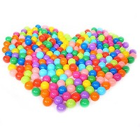 LexBlue(TM)BS#S 25pcs/50pcs/100pcs Non-toxic No smell Colorful Ball Soft Plastic Ocean Ball Funny...