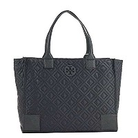 TORY BURCH トリーバーチ QUILTED TOTE トートバッグ ブラック 33030 [並行輸入品]
