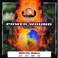 SIT -エスアイティー- ベース弦 POWER WOUND -Nickel Round Wound -Fusion Wound  LIGHT 050-105 x 1セット NR50105L