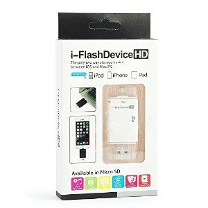 [PCATEC] [iOS9対応] ipad air/air2/iphone6/6plus/iPhone /5/5S/5C 全対応 i-FlashDrive Mirco SD/TF カードリーダー...