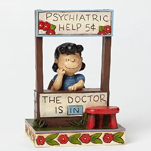 【enesco】 Peanuts by Jim Shore - Lucy The Doctor is in- #4042386