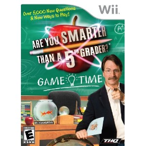 Are You Smarter Than a Fifth Grader Game Time