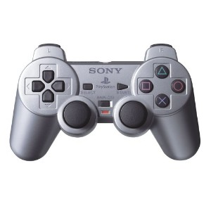 PS2 DualShock 2 Controller - Satin Silver (輸入版)