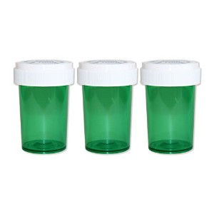 ピルケース - Medicine Pill CASE 【Medium】 3PACK (GREEN)