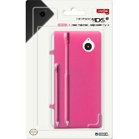 DSi Silicone Protector & Adjustable Stylus Set - Pink (輸入版)