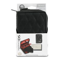 Nintendo DS Lite Quilted Folio - Black (輸入版)