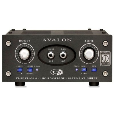 AVALON DESIGN U5 [Mono Instrument DI Preamplifier] ブラックパネル