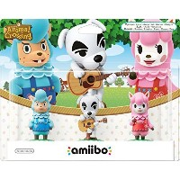 Amiibo - Animal Crossing Collection 3 Pack (Reese + K.K. Slider + Cyrus) (Nintendo Wii U/3DS) (輸入版)