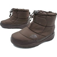 (ザノースフェイス)THE NORTH FACE NF51586 Nuptse Bootie WP IV Short 23cm(US5) DB(デミタッセブラウン)