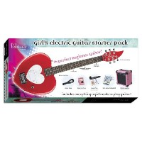 14-7013 Debutante Heartbreaker Short Scale Electric Guitar Starter Pack ショートスケール エレキギター スターターパック...