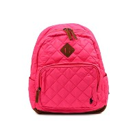 Ralph Lauren ラルフローレン キッズ 950140 QUILTED BACK PACK Pink [並行輸入品]