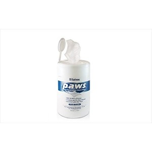 Paws Antimicrobial Disinfectant Hand Wipe 160/tub by SAFETEC OF AMERICA INC [並行輸入品]