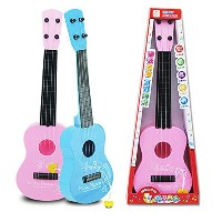 LuxBene(TM)Kid's Baby 4 String Acoustic Guitar Wisdom Development Simulation Music Toy