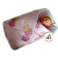 BlueberryShop Classic with Pillow Swaddle Wrap Blanket Sleeping Bag for Newborn, baby shower GIFT...