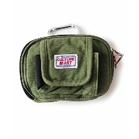 CULTURE MART カラビナポーチ POUCH(オリーブ) 100994-4