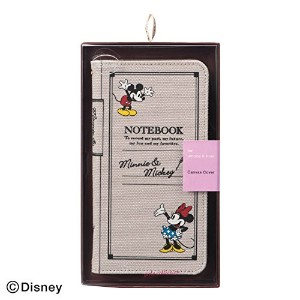 ELECOM Disney for iPhone6s Plus / 6 Plus キャンバスカバー ミニーマウス&ミッキーマウス PM-A14LCLFDNY01